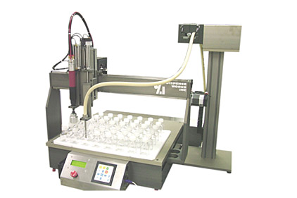 DISPENSE WORKS Robotic Filling and Capping System