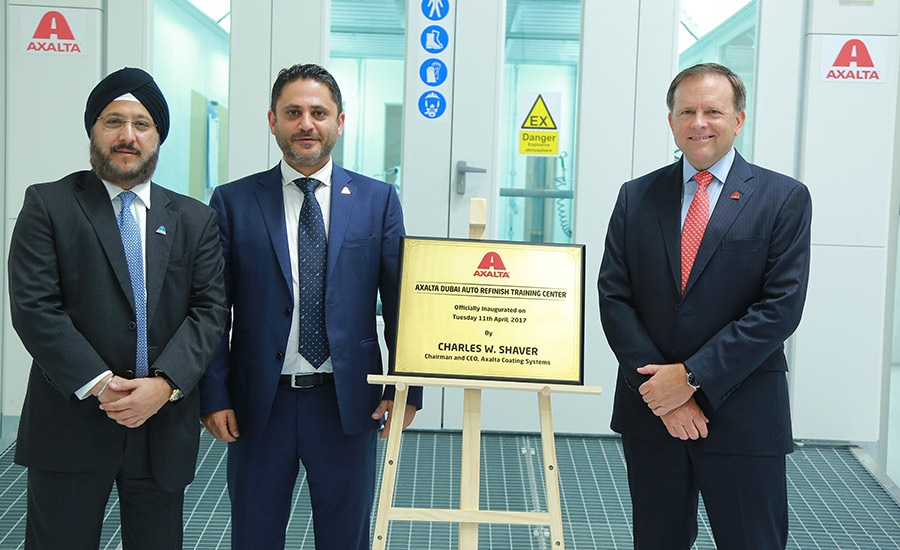 Axalta-Opens-Automotive-Refinish-Training-Centre-in-Dubai