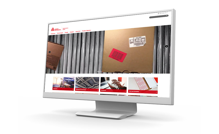 Avery Dennison Performance Tapes website