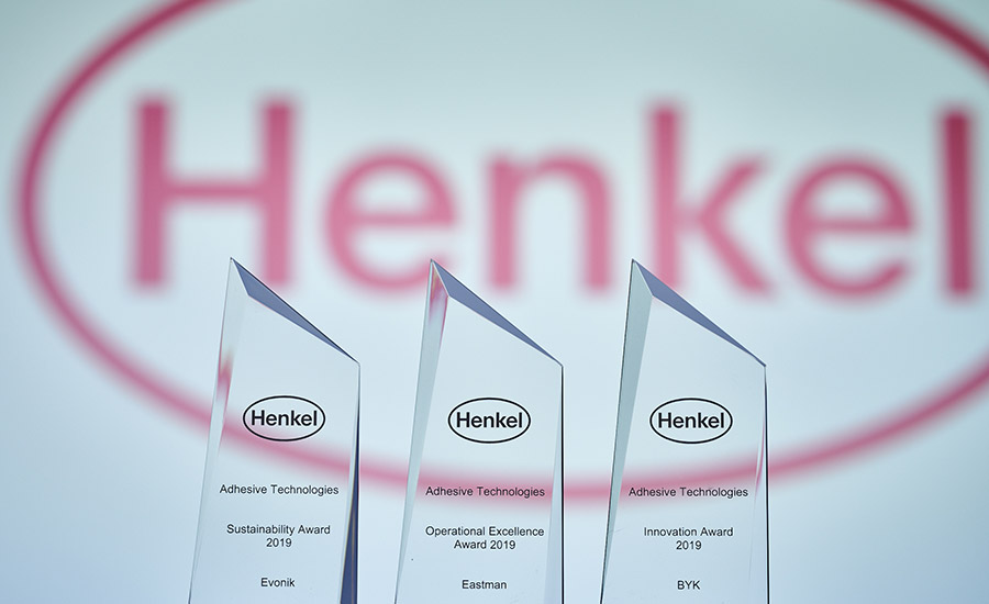 Henkel-supplier-awards-eastman-byk-evonik