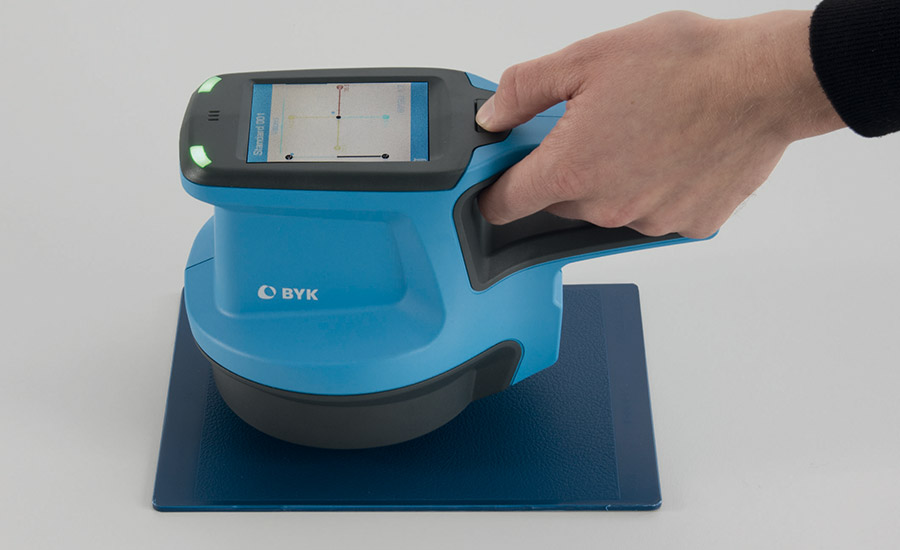 BYK-GARDNER: Color, Gloss, and Surface Texture Analyzer