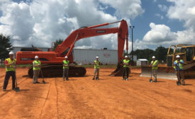 Henkel groundbreaking Salisbury North Carolina