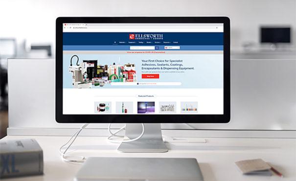 Ellsworth Adhesives Europe website