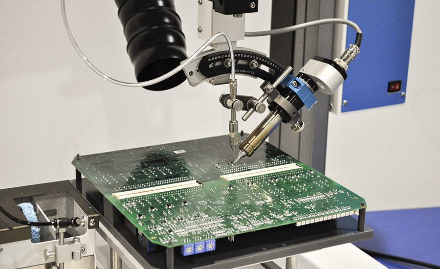 FISNAR: Soldering Robots | 2015-12-16 | Adhesives Magazine