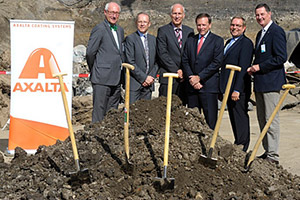 Axalta Coating Systems Breaks Ground on Expansion Project