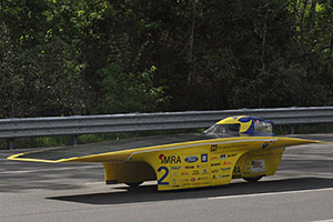 University of Michigan Solar Car Features Avery Dennison Car Wrap
