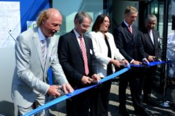 Ribbon Cutting at BYK Wesel Germany