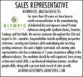 WANTED: Sales Representative
