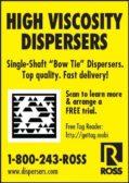 Charles Ross: High Viscosity Dispersers