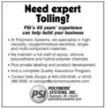 Polymeric Systems, Inc. - Expert Tolling