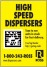 Charles Ross: High Speed Dispersers