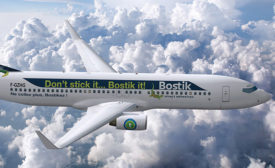 Focus On: Bostik Takes its Brand to the Skies