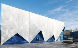 """3DP façade of the """"Europe Building"""""""