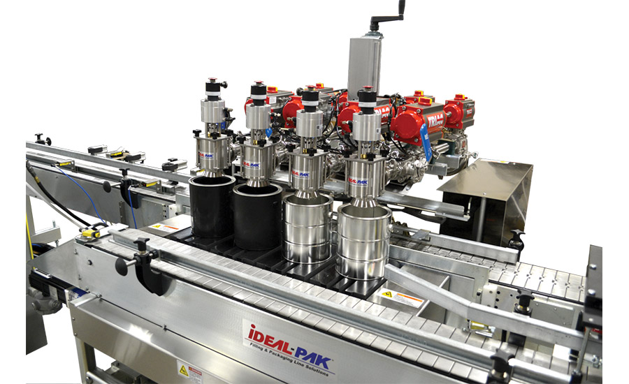 four-head automatic filler