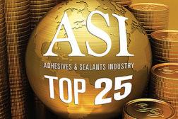 asi top 25 adhesives and sealants companies