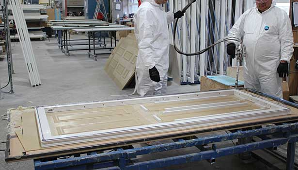 sealants door factory spray coatings
