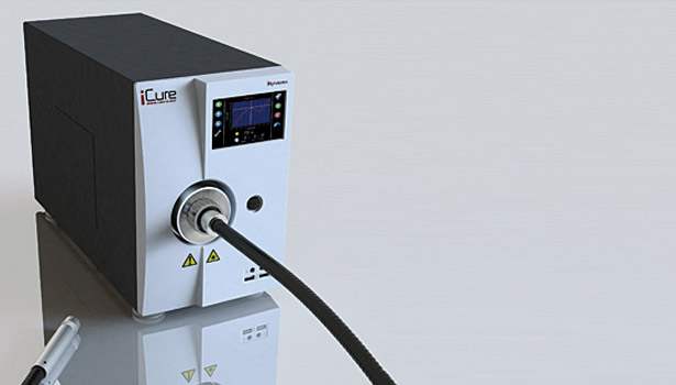 icure photonics machine curing infrared