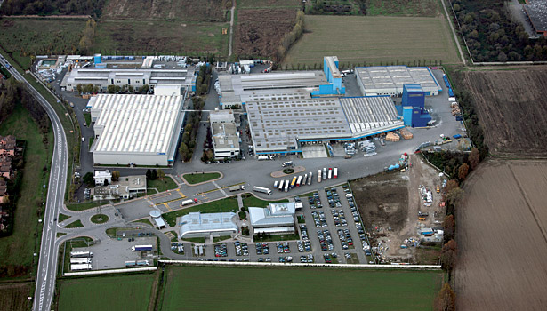 aerial view factory mapei