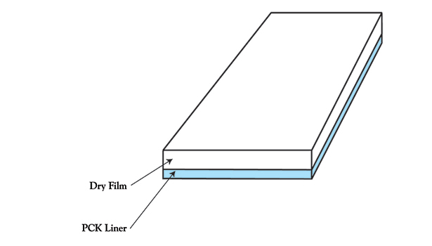 dry film pck liner graphic