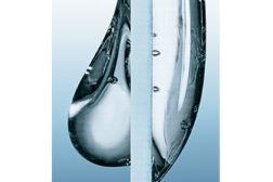 water drop controlling rheology