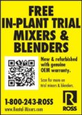 Charles Ross:Free In-Plant Trial Mixers & Blenders
