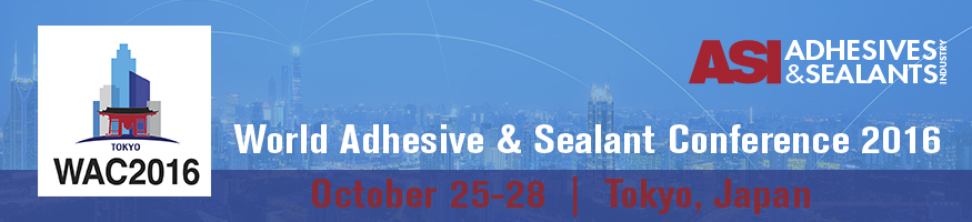 World Adhesive & Sealant Conference 2016